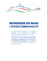 Guide – Reprendre en main l'Interco